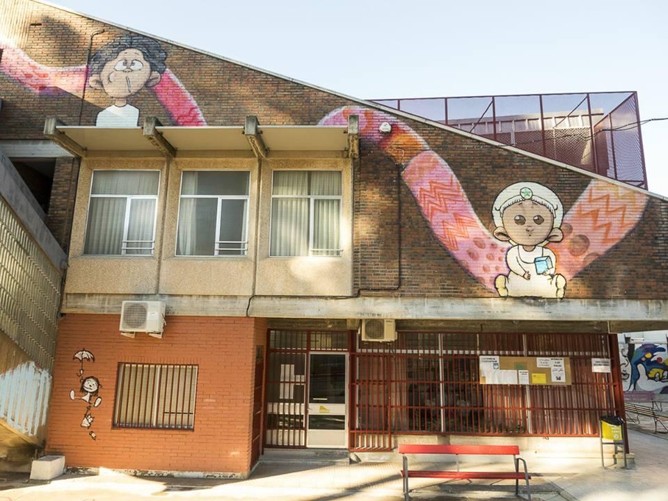 fachada Los Rosales